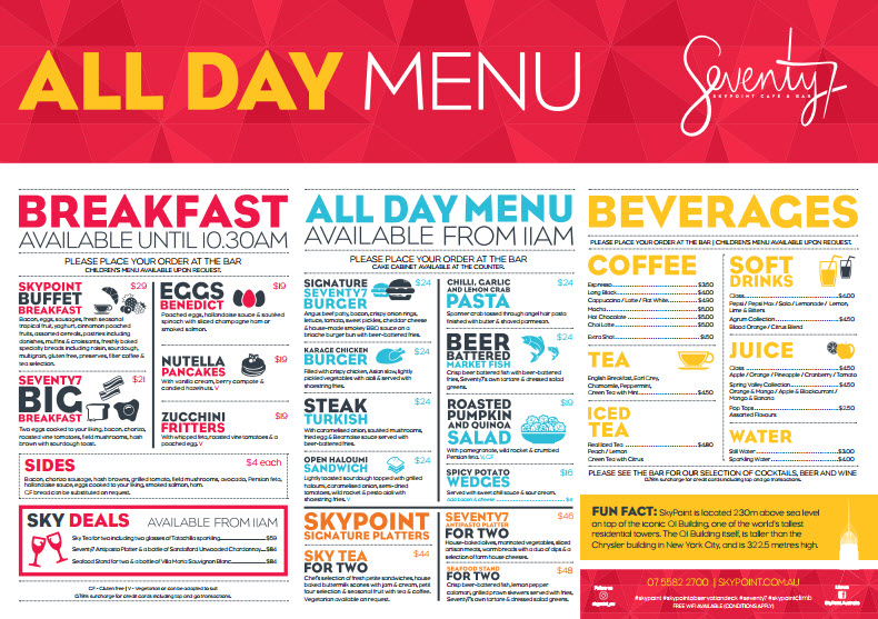 Skypoint All Day Menu JULY Image